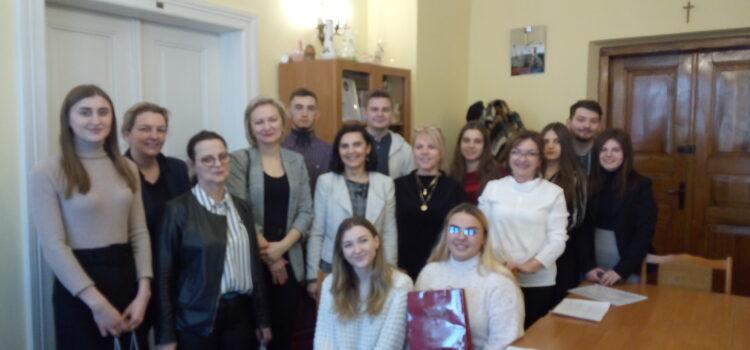 Студенти групи Pol1-B16 на педагогічній практиці в м. Ярослав Республіки Польща