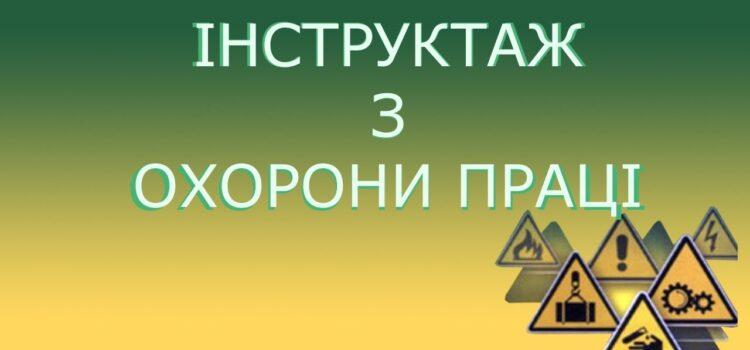 """Інструкція № 93 """"З охорони праці та безпеки життєдіяльності для студентів у літній період"""""""